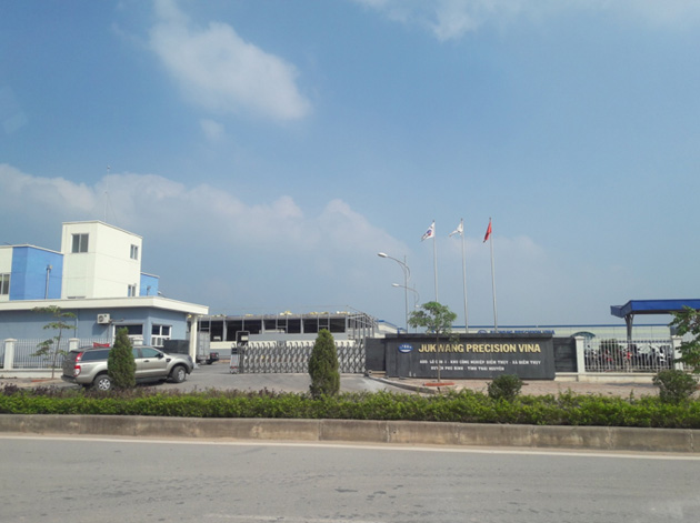 Cung cấp Bu lông lục giác chìm cho Công ty TNHH Jukwang precision Việt Nam.