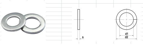 Long đen (vòng đệm) phẳng