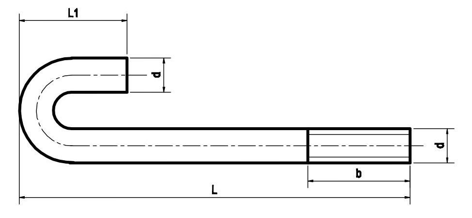 Báo giá Bu lông neo móng M32 tại Hà Nội