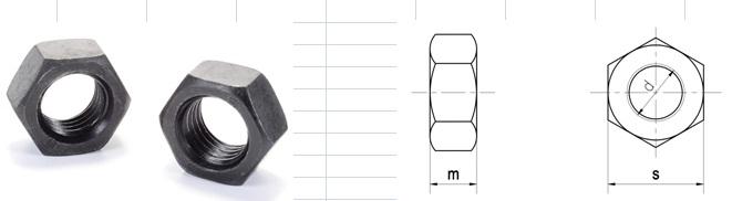 Đai ốc lục giác DIN 934